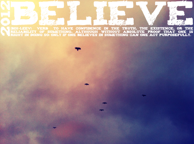 2012wordBelieve